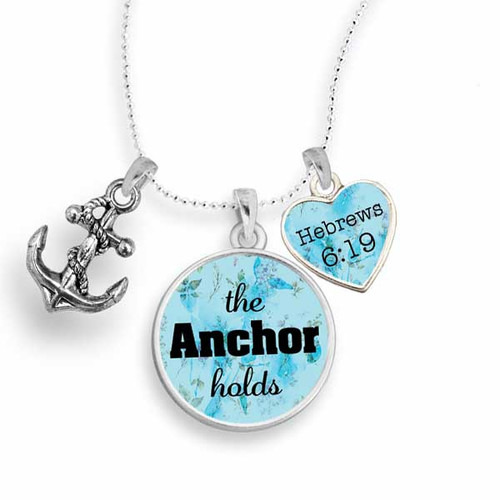 The Anchor Holds Necklace