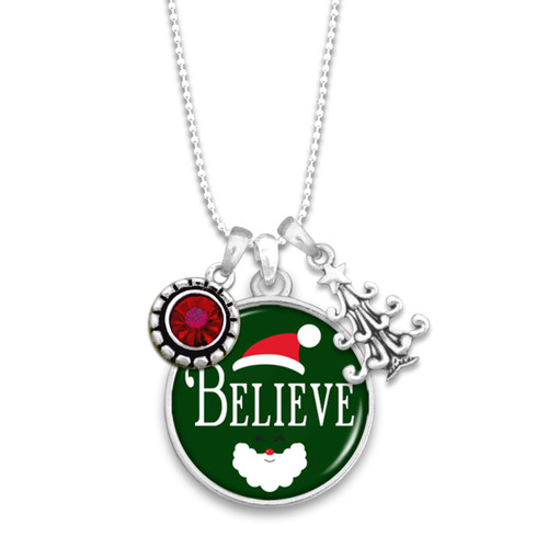 Believe Christmas Collection- Believe Necklace