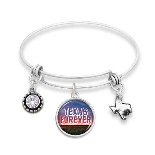 Texas Forever Texas Wire Bangle Bracelet 59947