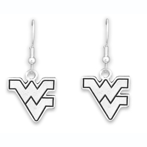 *Choose Your College* Earrings- Silver Logo