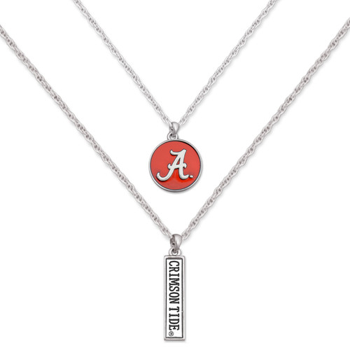 Double Down College Necklace