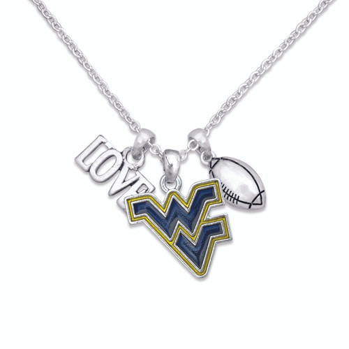 Touchdown Football College Necklace