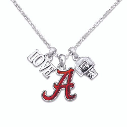 Slam Dunk Basketball College Necklace