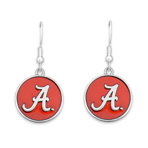 Alabama Crimson Tide Society  Earrings