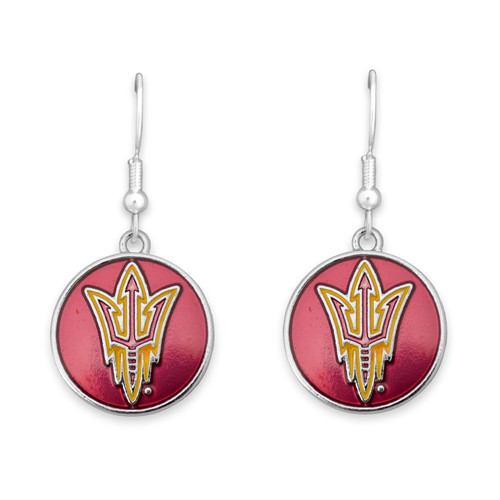 Arizona State Sun Devils Society  Earrings