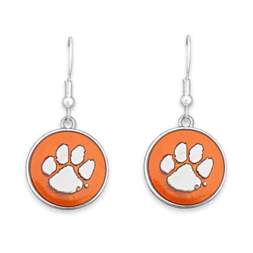 Clemson Tigers Society  Earrings