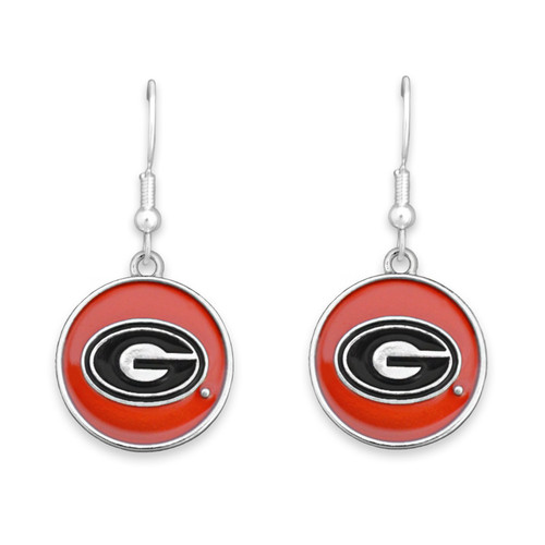 Georgia Bulldogs Society  Earrings