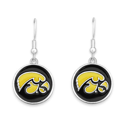 Iowa Hawkeyes Society  Earrings
