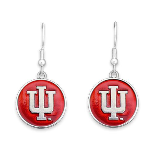 Indiana Hoosiers Society  Earrings