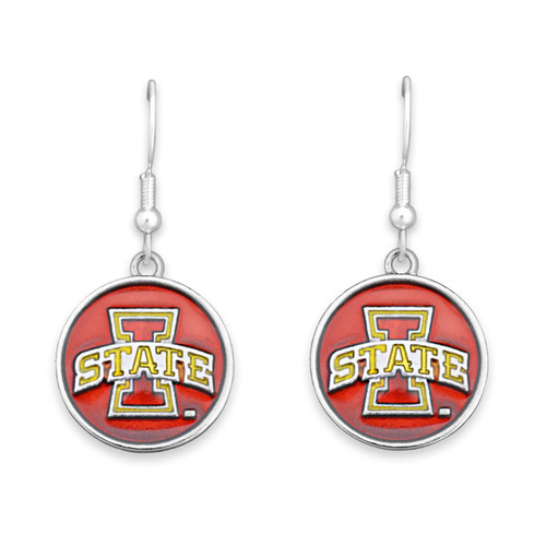 Iowa State Cyclones Society  Earrings