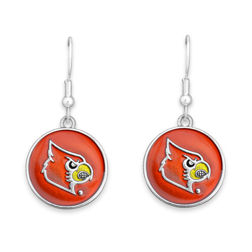 Louisville Cardinals Society  Earrings