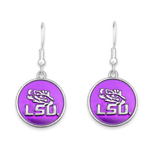 LSU Tigers Society  Earrings
