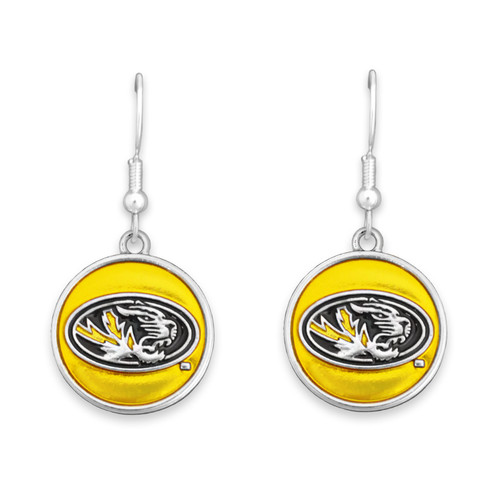 Missouri Tigers Society  Earrings