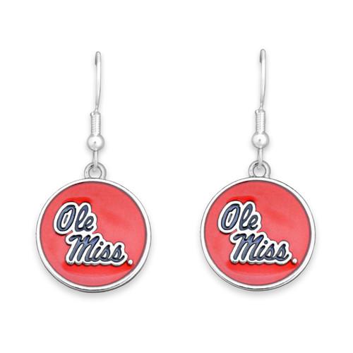Ole Miss Rebels Society  Earrings