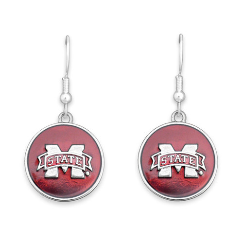 Mississippi State Bulldogs Society  Earrings