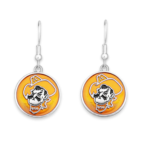 Oklahoma State Cowboys Society  Earrings