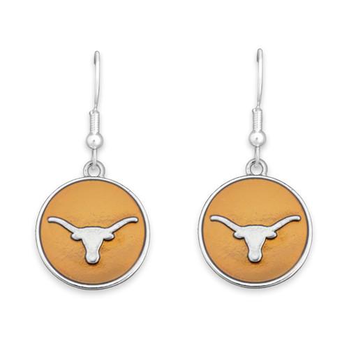 Texas Longhorns Society  Earrings