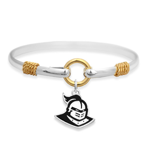 Central Florida Knights Two Tone Rope Bangle Bracelet