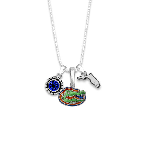 Florida Gators Home Sweet School Necklace
