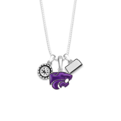Kansas State Wildcats Home Sweet School Necklace