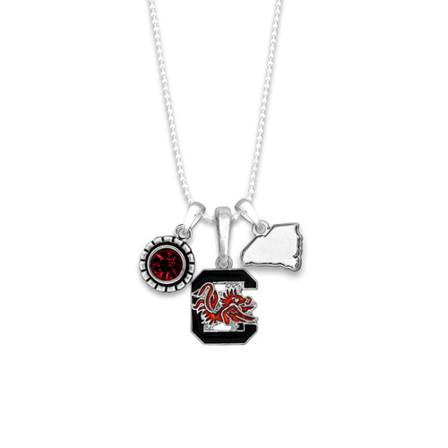 South Carolina Gamecocks Home Sweet School Necklace
