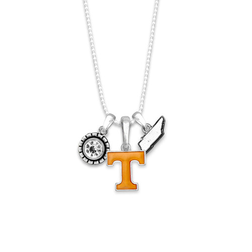 Tennessee Volunteers Home Sweet School Necklace