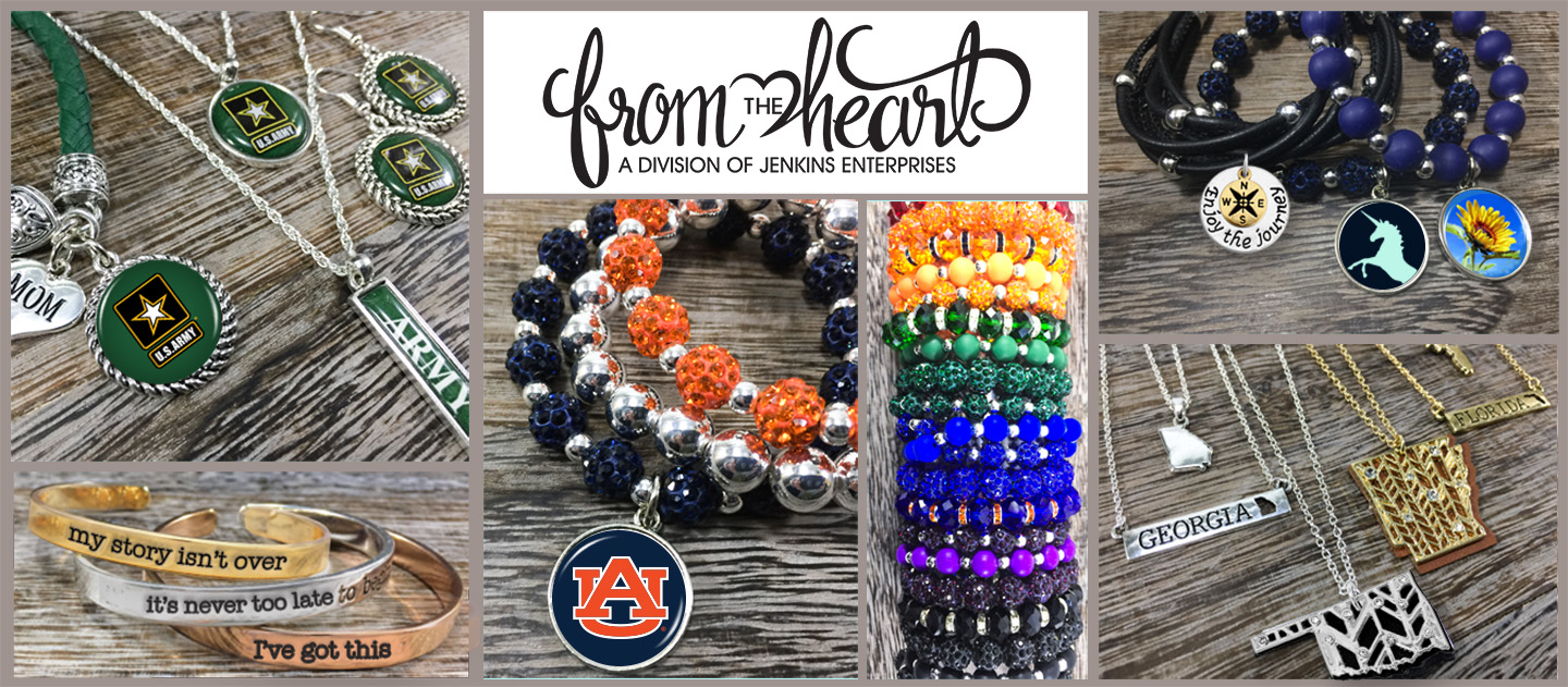 From The Heart Home Page Different Jewelry Styles and Categories