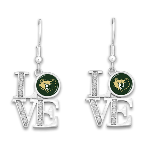 High School Logo Earrings