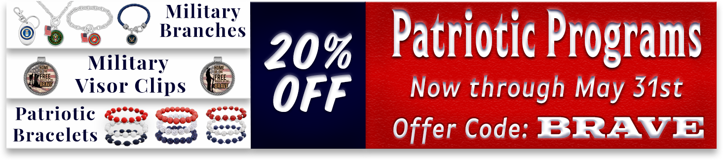 Patriotic Programs 20% off Web Banner