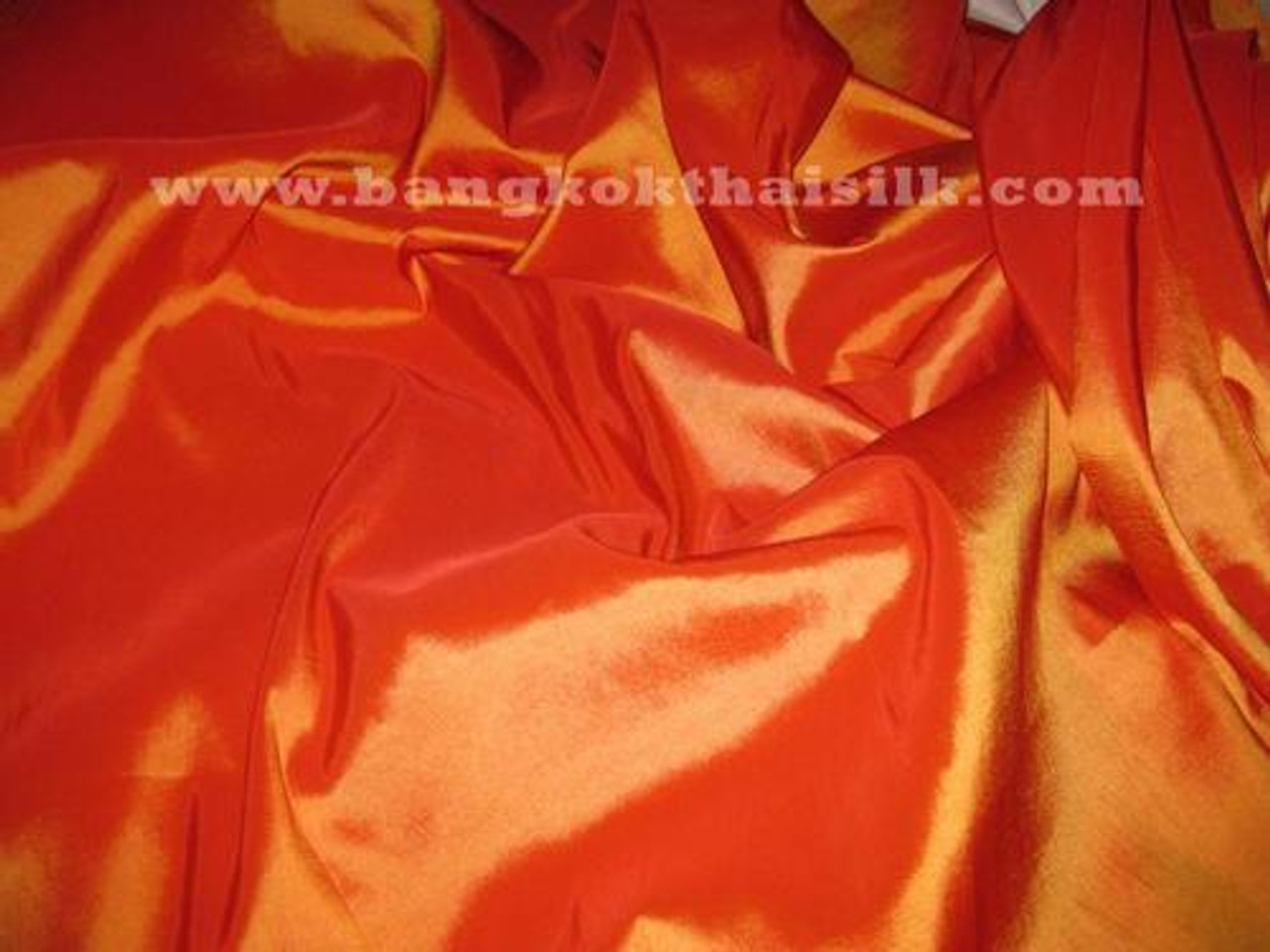 Orange-Red Taffeta