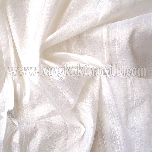 Ivory 100% Silk Dupioni Fabric