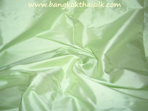 Bright Green 100% Authentic Silk Fabric