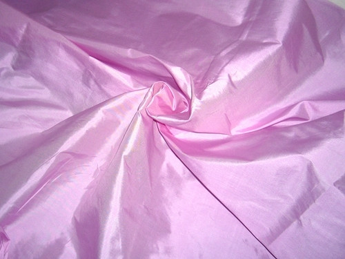 Orchid Pink 100% Authentic Silk Fabric
