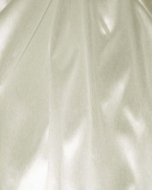 "Italian Faux Silk Fabric 58""W - Ivory"