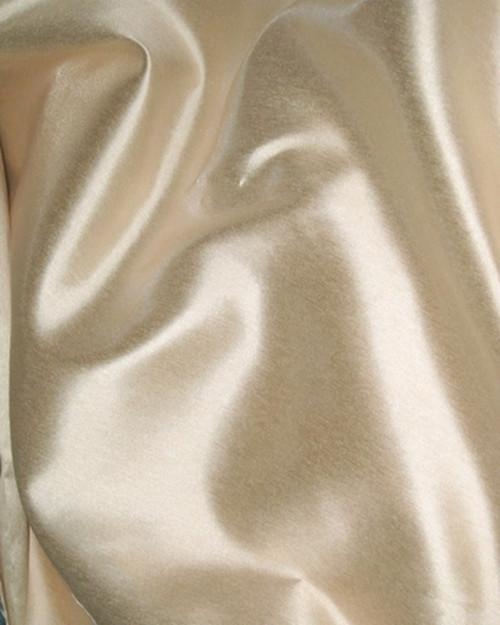 "Italian Faux Silk Fabric 58""W - Champagne"