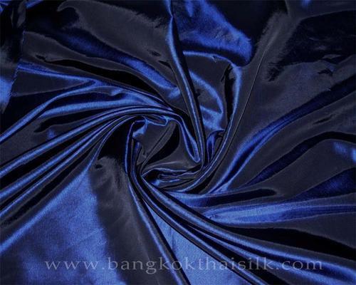 """Midnight Blue Taffeta 60""""W Fabric"""