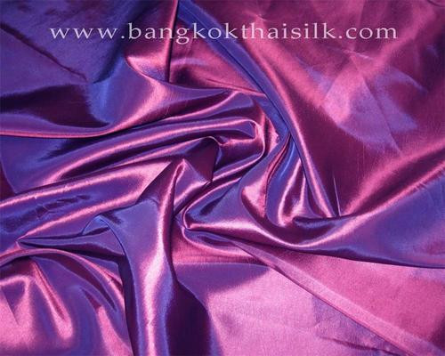 "Purple Fuchsia Faux Silk Taffeta 60""W Fabric"