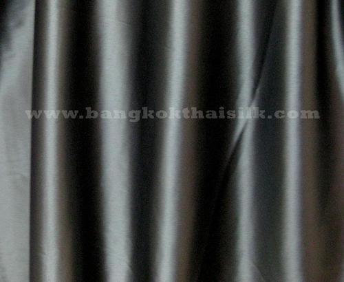 "Dark Gray Satin Fabric 44""W"