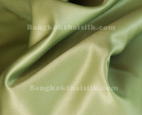 "Sage Green Satin Fabric 44""W"