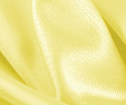 "Maize Satin Fabric 44""W"