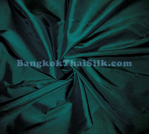 "Forest Green Taffeta 60""W Fabric"