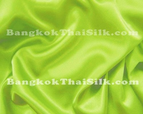 "Pistachio Green Satin Fabric 44""W"