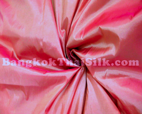 "Pink Cream Taffeta 60""W Fabric"