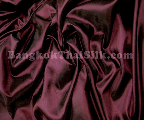 "Eggplant Purple Taffeta 60""W Fabric"