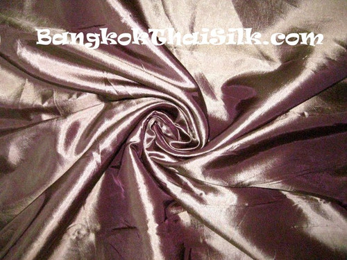 "Dark Champagne Taffeta 60""W Fabric"