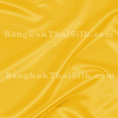 "Yellow Satin Fabric 44""W"