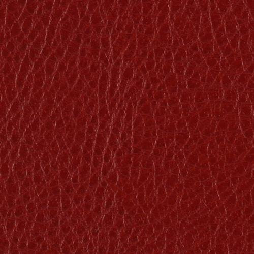 Faux Calf Leather Fabric - Dark Red