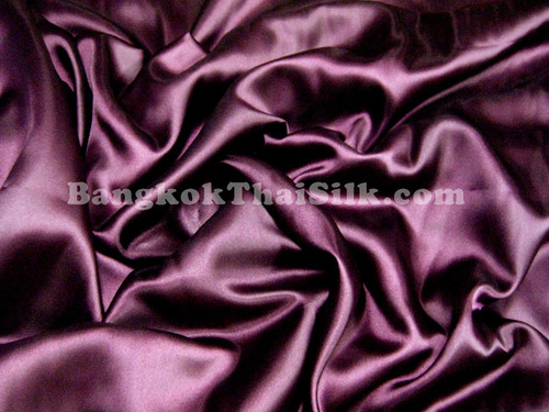 "Purple Satin Fabric 44""W"