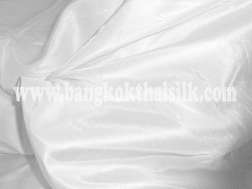 "Faux Silk Caprice Dupioni 60""W Fabric - White"