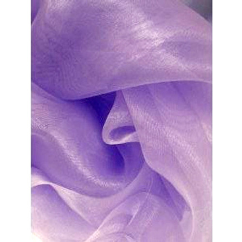 Sheer Mirror Organza - Lilac